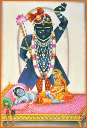 Shrinathji Darshan Shayan