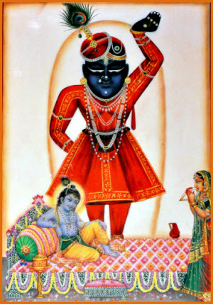 Shrinathji Darshan Uthapan